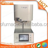 2015 new update dental lab bottom lift zirconia sinter furnace