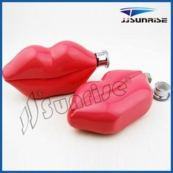 6oz hot sale stainless steel mouth hip flask