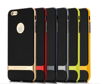 High Quality Rock Royce Series Shockproof TPU PC Hybrid Armor Case Cover For iPhone 6s+