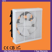 6 8 10 12 Inch Square Exhaust Fan With Mesh Bathroom Exhaust Fan / Ventilating Fan