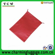Shoe package recycled non-woven cheap drawstring bags