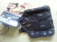 vest stimulation, electro fitness, electro fittness machine vest