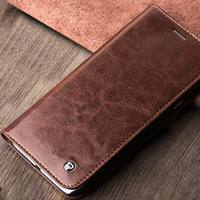 QIALINO Handmade Top Head Leather Leather Case For Samsung Tab A8