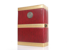 Searun wood boxes wholesale,for brand names of red wines packaging,Wine box Leather