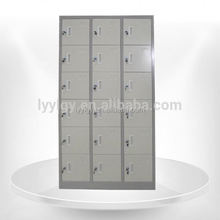 Good quality kd 18 door metal foot locker Made in China Euloong/office furniture in riyadh