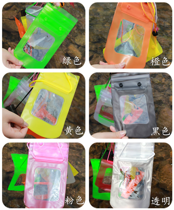 Customized waterproof cellphone bag