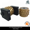 Rotary Concrete Bush Hammer Tools for Concrete Litchi Surface Grinding