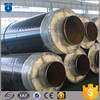 good quality API5l steel steam insulation pipe warpping rockwool insulation material for sale
