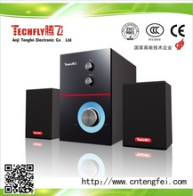 High quality 2..1speaker for DVD/TV/Home theater system,computer spraker TF843/OEM