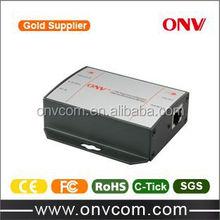 Manufacturer 10/100M Single Port DC poe injector 48V output 15.4W
