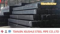 geological pipe square steel black