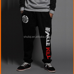 design 100% cotton men sport pants factory direct price with your own logo and pattern