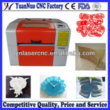 YN5030 paper laser cutting engraving machine with good factory price,CE FDA certificate