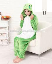 2014 de fábrica al por mayor baratos al por mayor para adultos funny onesie animales de dibujos animados pijama