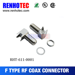 rg8 cable f connector rg11 coaxial cable connector rf micro coaxial connector