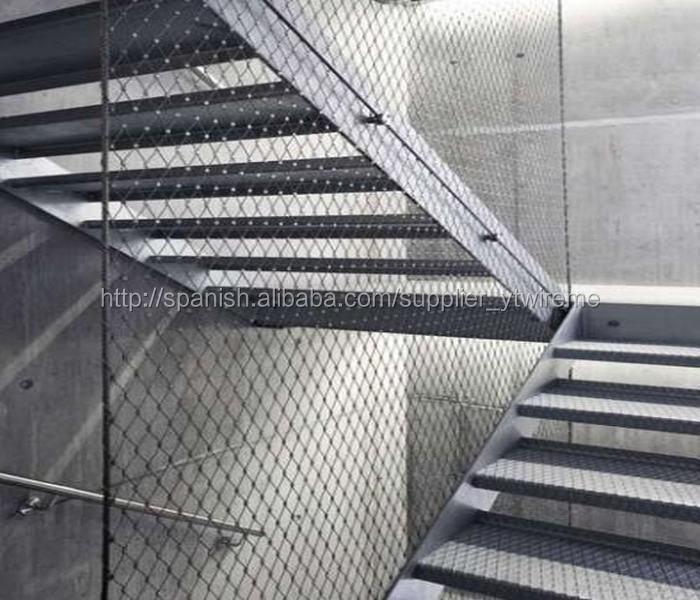 Proteccion para escaleras cm ajustable de seguridad del - Barandillas de seguridad para escaleras ...