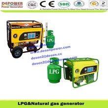 Low price to sell lng,air cooling 2KW,3KW,5W,6KW,7KW natural gas generator