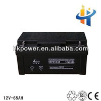 12V 65AH sealed lead acid battery deep cycle volta battery for ups
