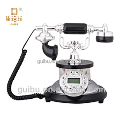 2015 Hot Selling Black Mini Office Rotary Antique Telephone For Gifts,call center work station,indian suits,bluetooth padlock