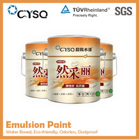 decorative dustproof spray house wall coating acrylic resin latex paint , water based make emulsion paint