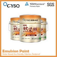 decorative dustproof spray house wall coating acrylic resin latex paint , water based make emulsion paint