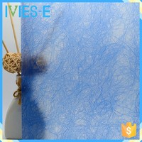 Smooth surface combined various fibers polyester hanging room divider partition