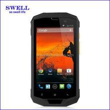tough phone 5inch waterproof Single sim 4g mobile android4.4 single sim 5S