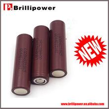 New hot selling e cigarette battery 18650 3.7v battery lg hg2 18650 3000mah rechargeable battery