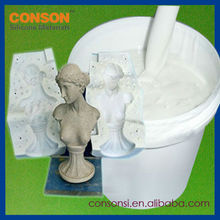 liquid 2 parts silicone rubber for concrete statue mold making