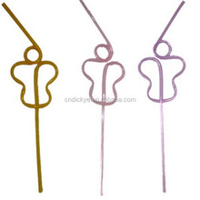 Colorful PVC spiral straw wholesale, fascinating party custom straw can pass FDA