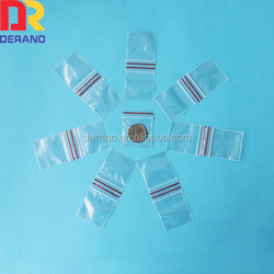 100% LDPE custom mini zip bag mini ziplock bags