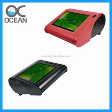 Hot sale distributor' touch screen Android RFID POS terminal with NFC RFID reader, printer, WiFi, 3G for kiosk cashless payment