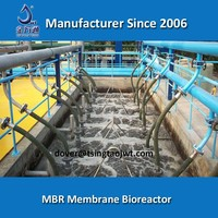 MBR gray water recycle plant for gray water recycling and reuse