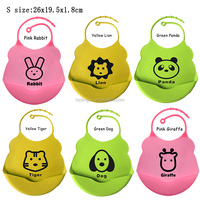 Promotion Cute Washable Soft Silicone Baby Bibs Wholesale