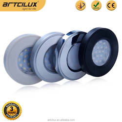 hot new products for 2015 kitchen surface mounted led downlight set Chrome , 55MM mini led downlight set cabinet