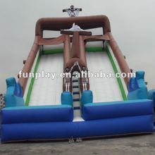 2012 Cheap pirate commecial slide inflatable
