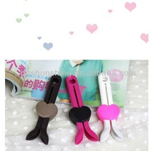 Boots Support rubber Stand Shaper Shoes Holder Organizer Stretcher Heart Clip