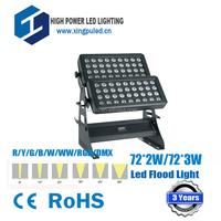 2015 Hot selling Square 144W led flood light, 72x2w led wall washer light, high power rgb led flood light 144W
