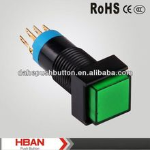 CE ROHS electric waterproof push button switch