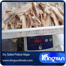 Dried Salted Wild Alaska Pollock Fish Migas Price Theragra Chalcogramma