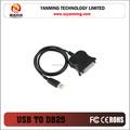 usb a seriale db25 25 pin femmina adattatore porta parallela cavo della stampante