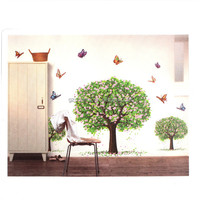 2015 Special Offer DIY Waterproof Removable Vinyl Wall Sticker Decal PVC Art Mural Stick Wallpaper For Bedroom Livingroom Decor