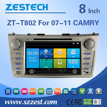 8 inch In Dash HD Touch Screen Car DVD for Toyota Camry/Aurion 2007-2011 GPS Navigation Stereo Bluetooth/SD/USB/Radio/wifi/3G