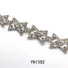 China good quality bling diamante trimming