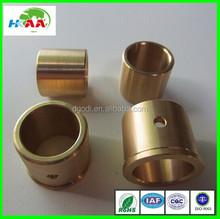 Dongguan custom CNC precision turning brass bush/brass bushing