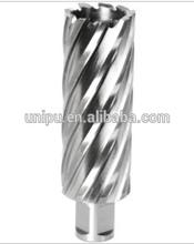 Herramienta de energía taladradoras/agujereadoras/brocas hss cortador del agujero de perforación magnético