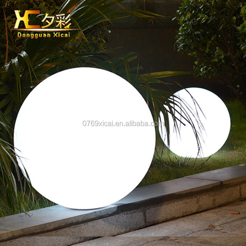 Wholesale outdoor led pool ball lamp solar lawn light for Outdoor lawn lights