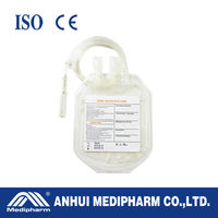 High quality Disposable 500ml Single Blood Bag