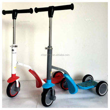 2015 new product on china market 2 in 1 child scooter for sale, 3 wheel scooter for kids child children, kids balance scooter