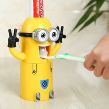Despicable me innovative toothpaste dispenser minions party supplies